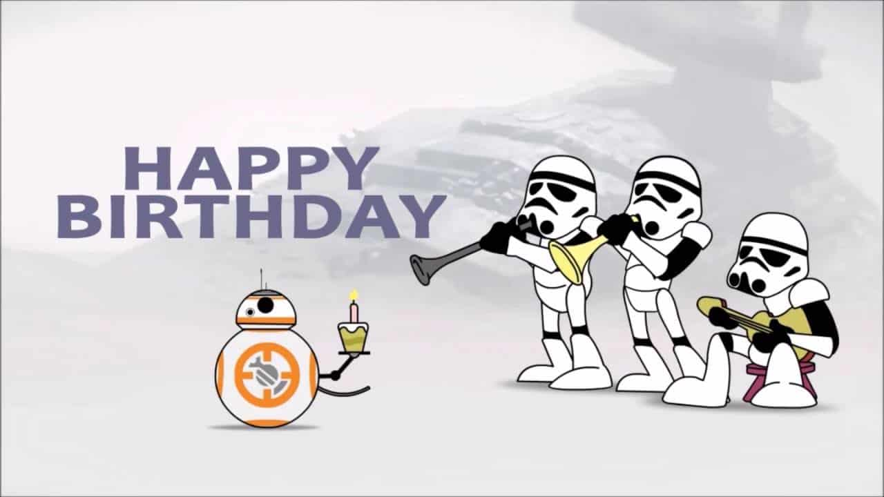 Star Wars Happy Birthday