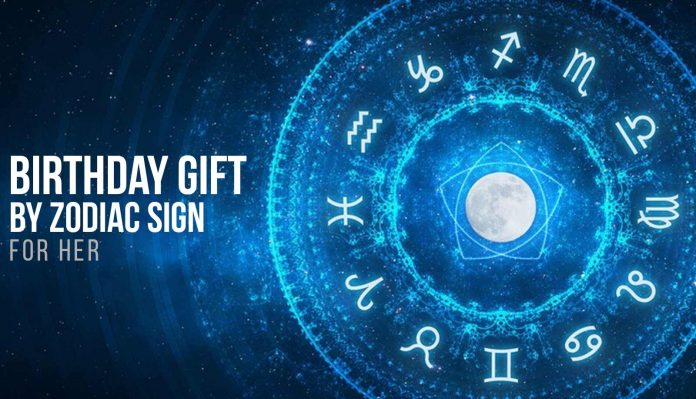 Zodiac Birthday Gifts for Her