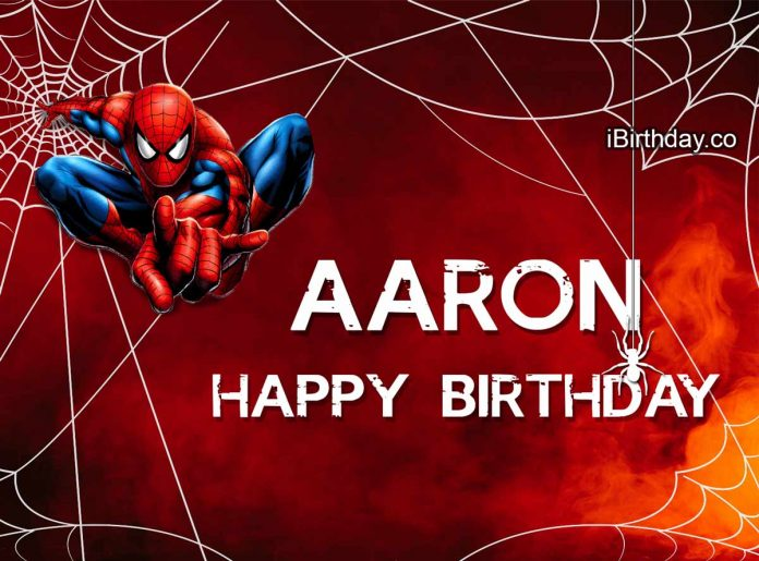 Aaron Spider-man Birthday Meme