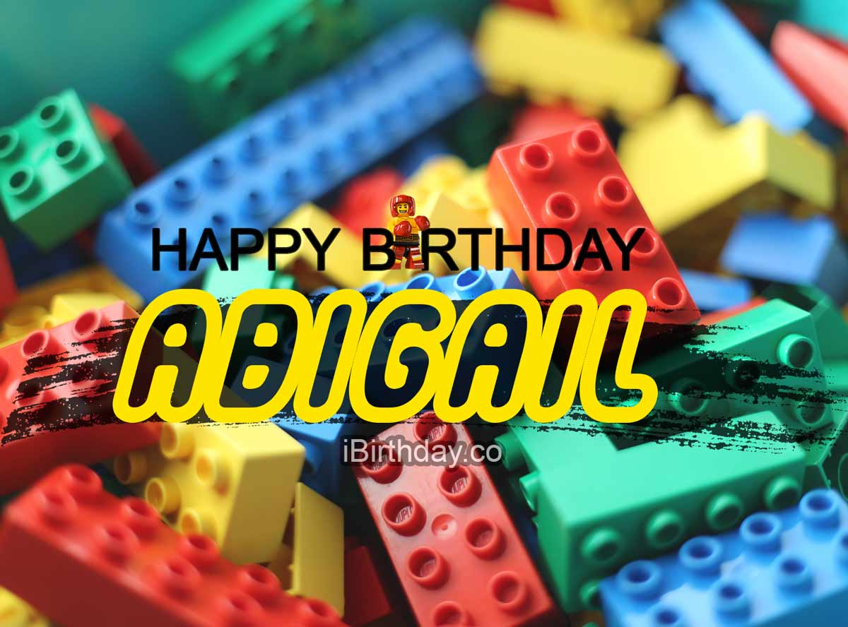 Abigail Lego Happy Birthday Meme