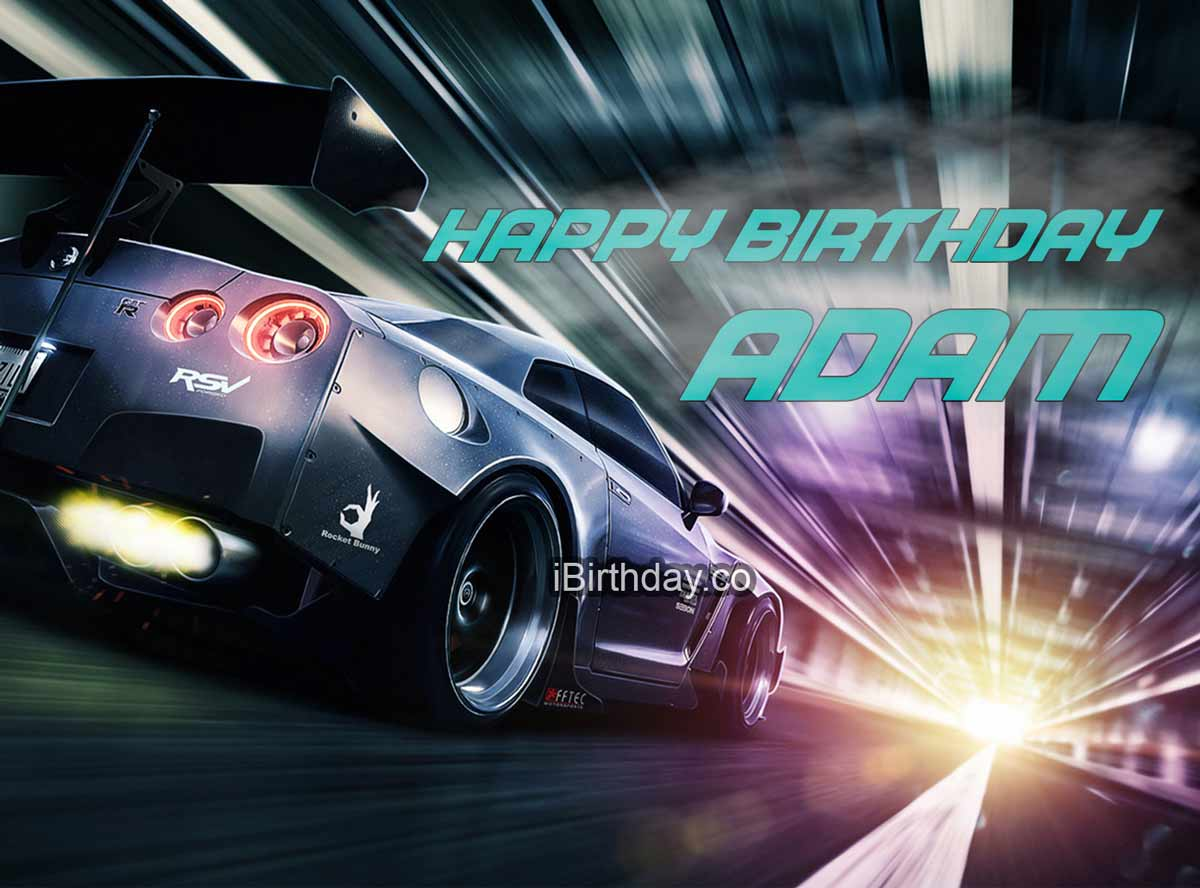 Adam Need for Speed Birthday Meme