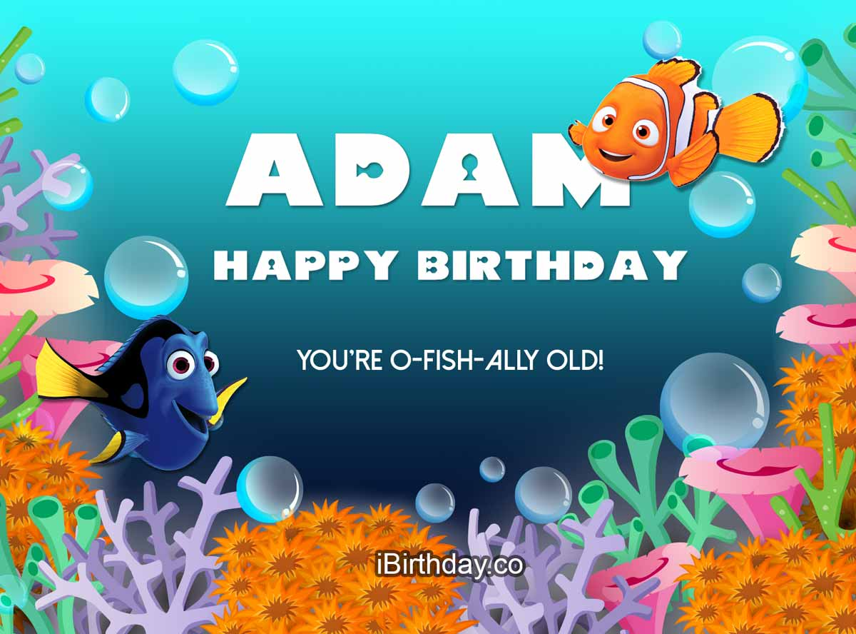 Adam Nemo Birthday Quote