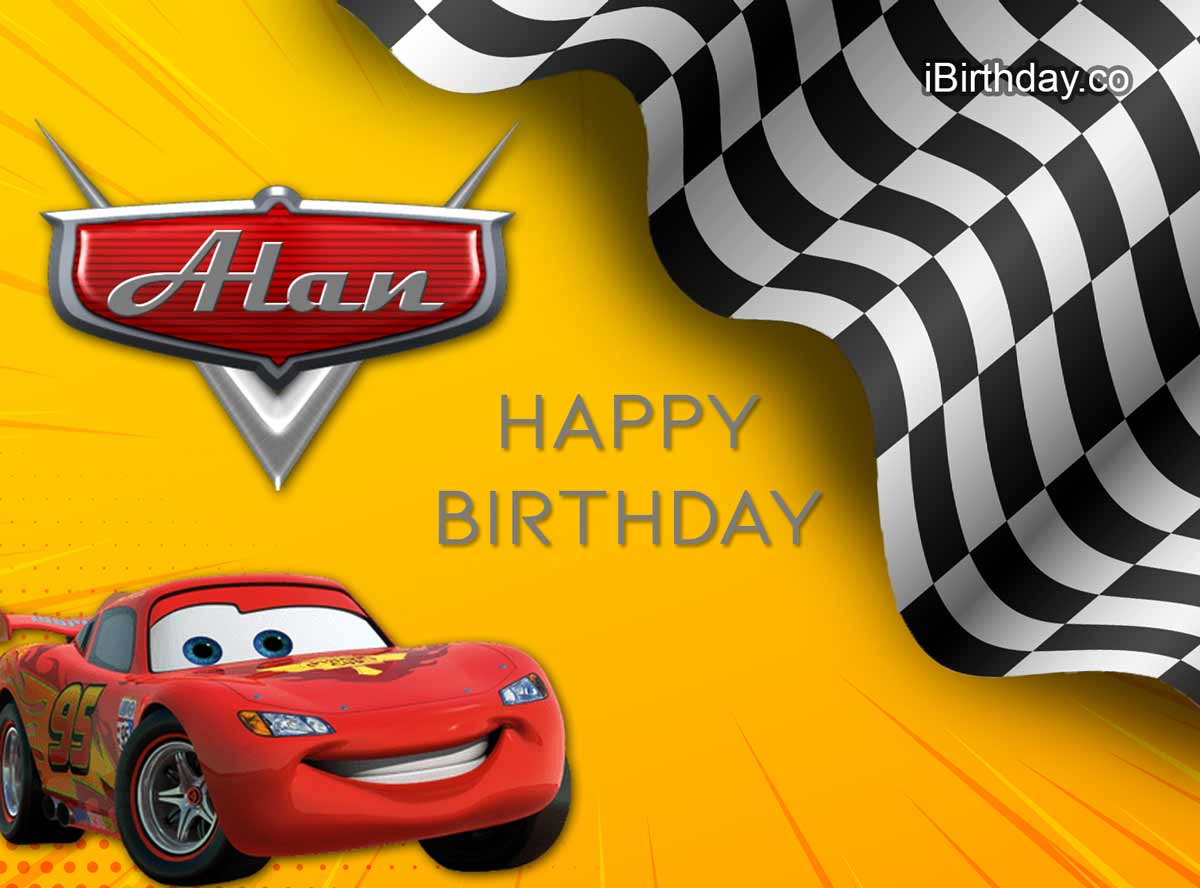 Alan Cars Birthday Meme