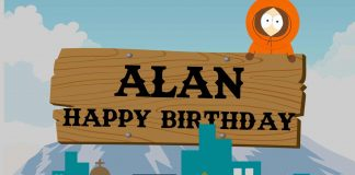 Alan South Park Birthday Meme