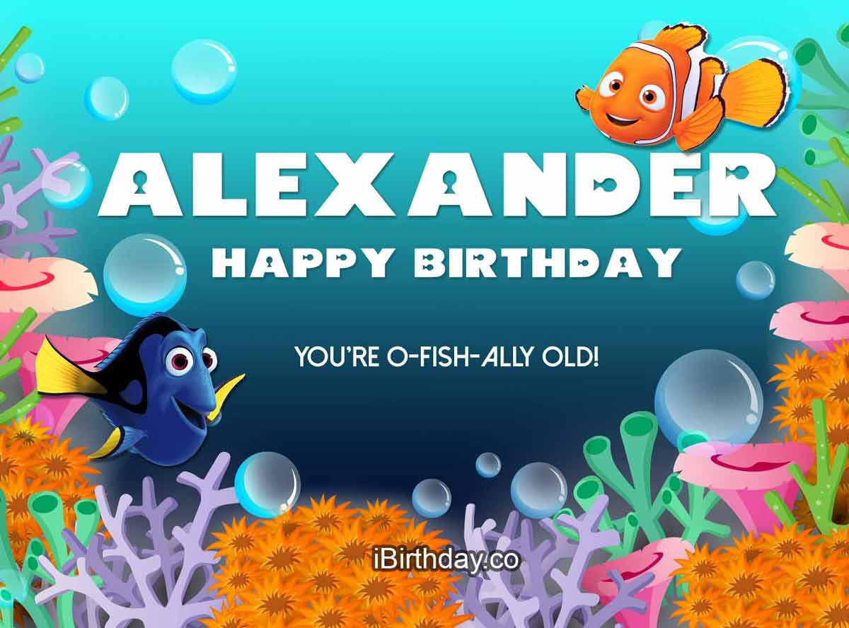 Alexander Nemo Happy Birthday