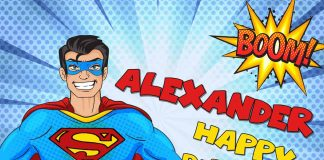 Alexander Superman Comic Birthday Meme