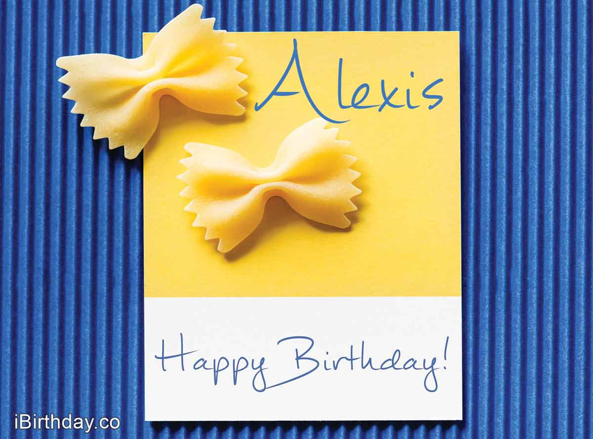 Alexis Macaroons Happy Birthday