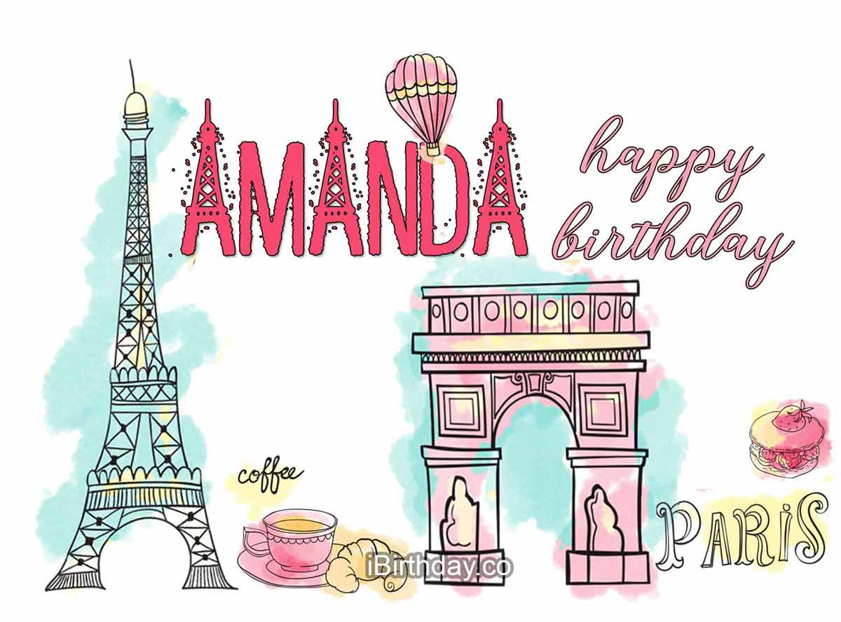 Amanda Paris Birthday Wish