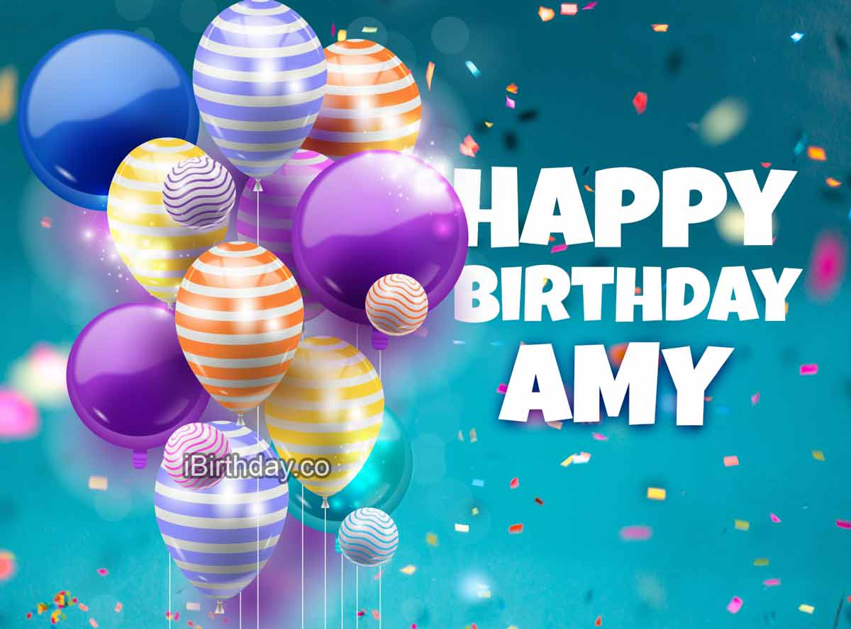 Amy Birthday Balloons Meme