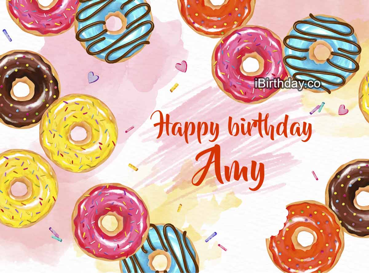 Amy Birthday Donuts Meme