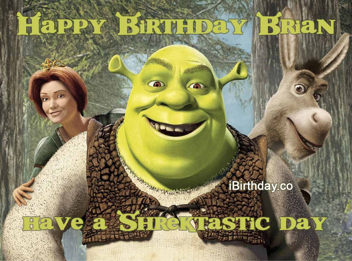Brian Shrek Birthday Meme Happy Birthday