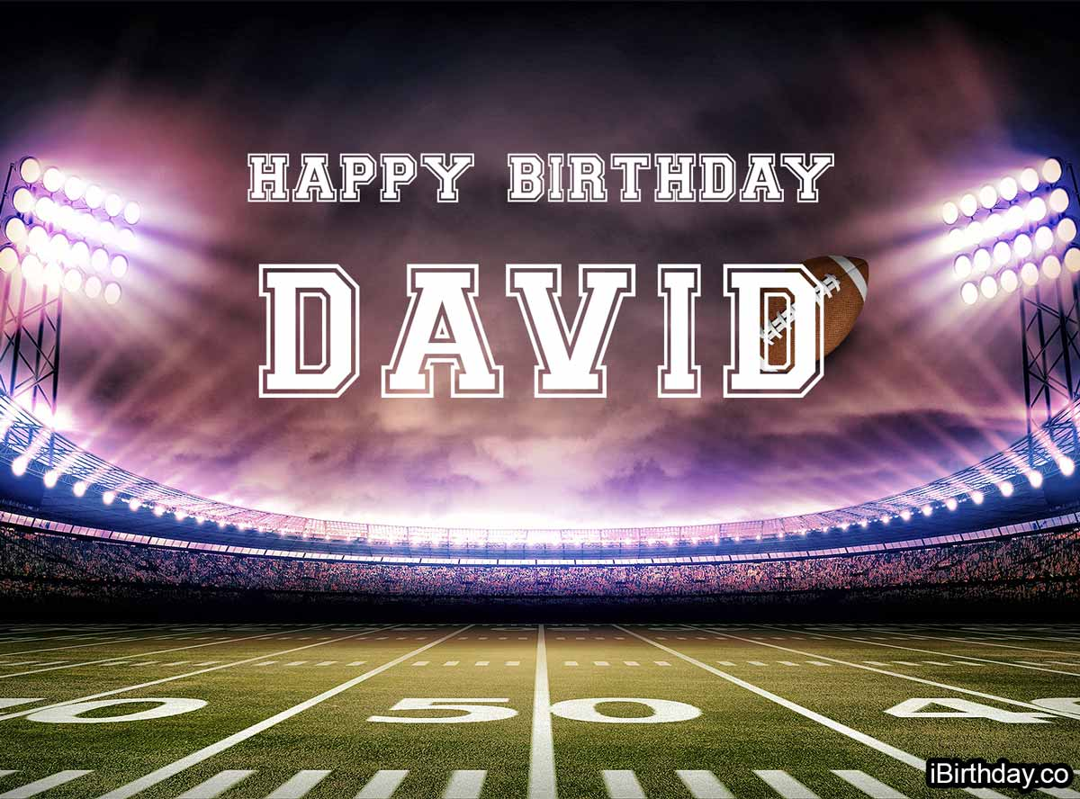 David Football Birthday Meme