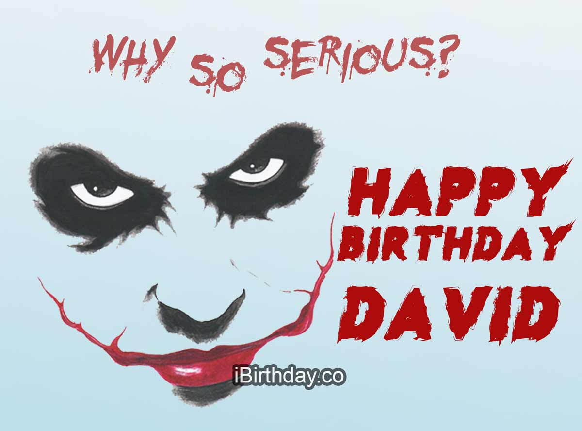 David Joker Birthday Quote
