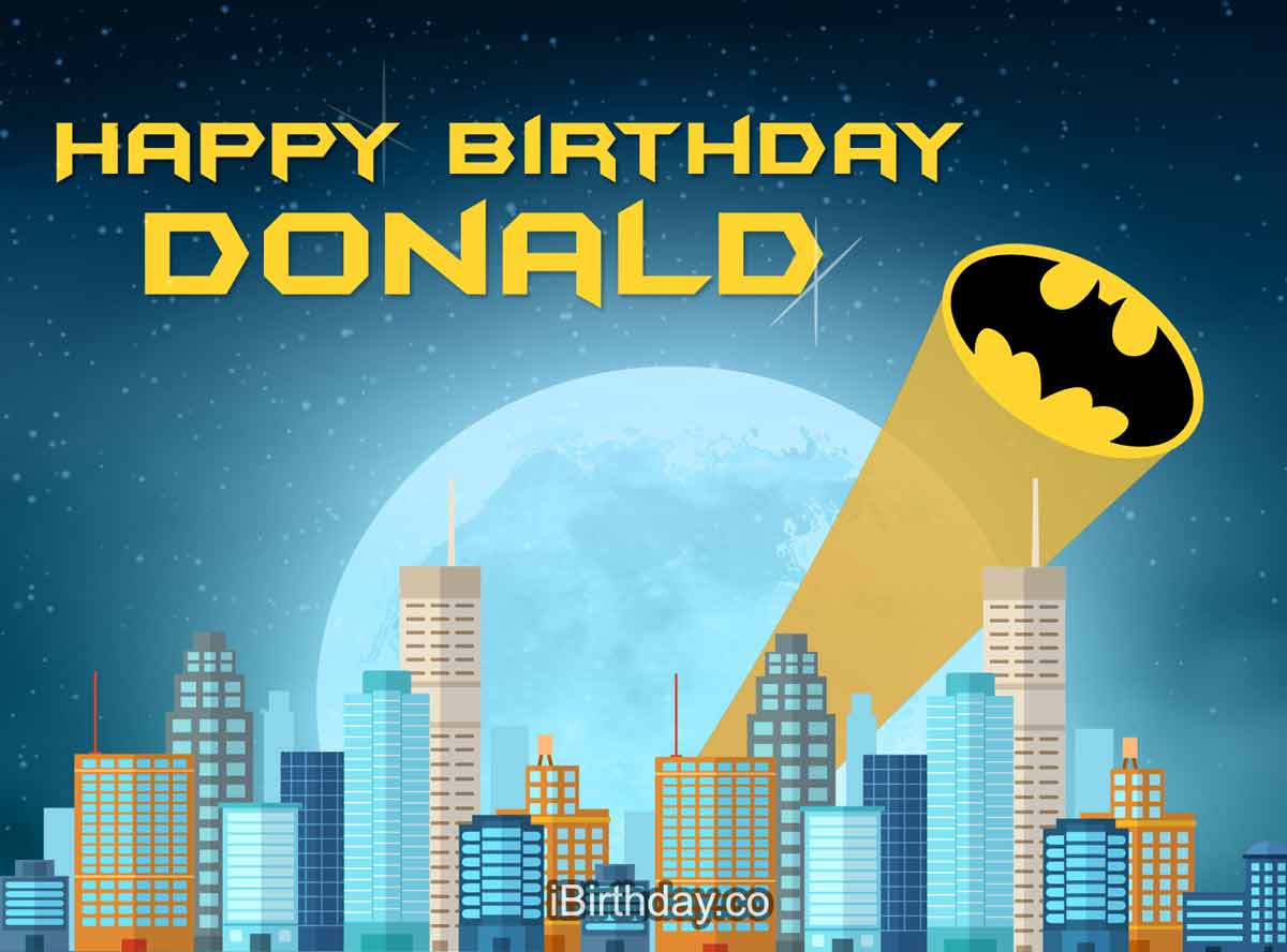 Donald Betman Birthday Meme