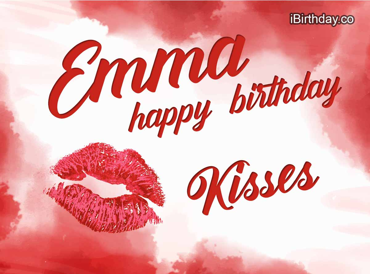 Emma Lips And Kisses Birthday Meme