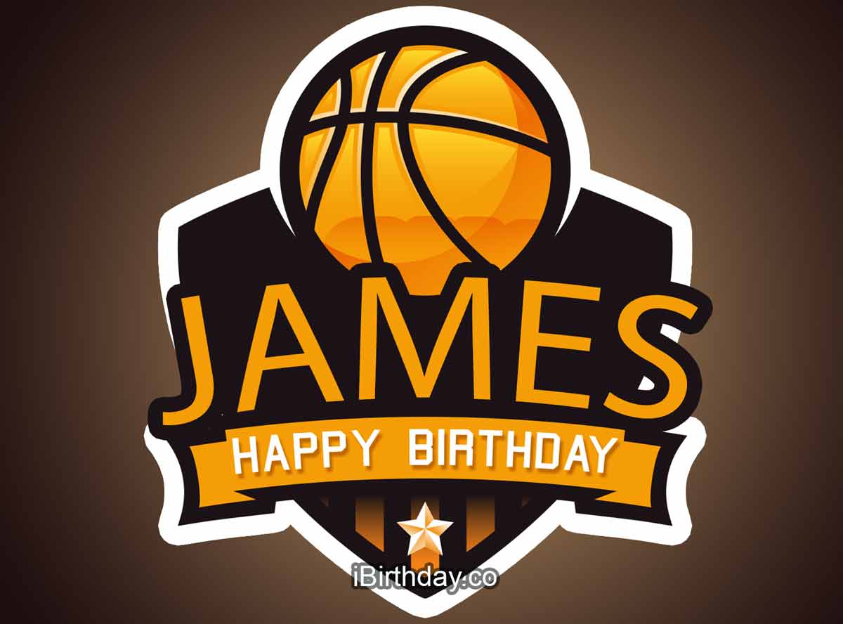 James Basketball Birthday Meme