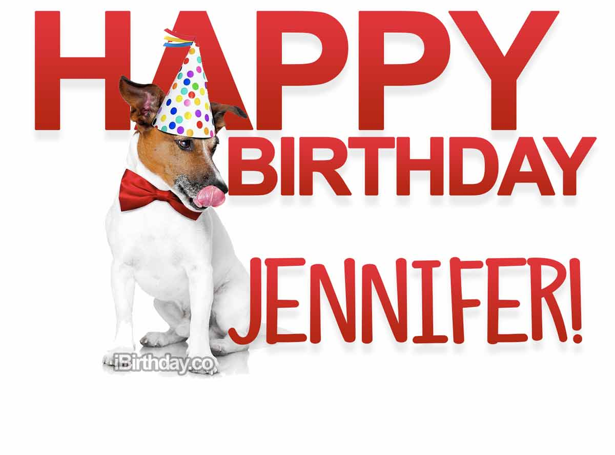Jennifer Dog Birthday Meme