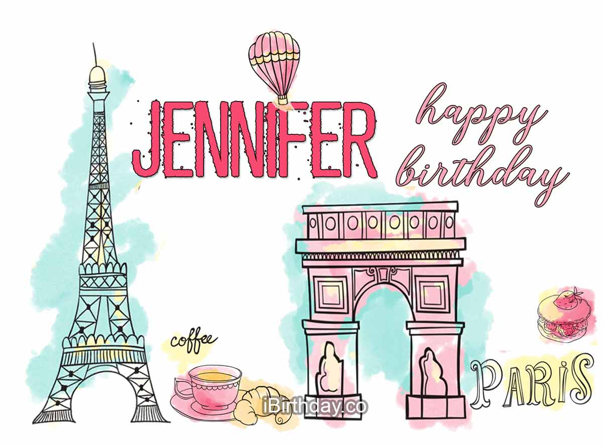 Jennifer Paris Birthday Wish