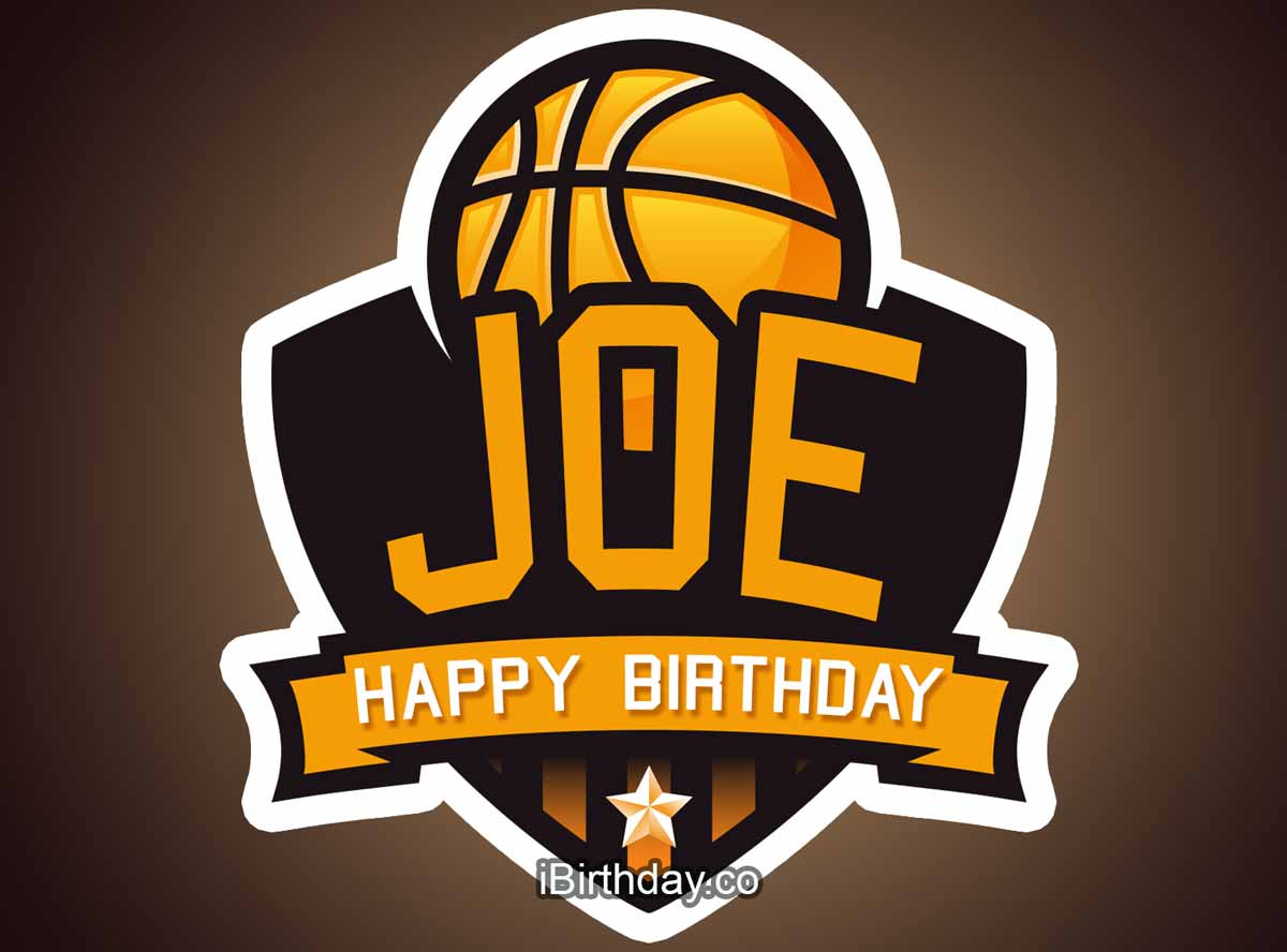 Joe Basketball Birthday Meme