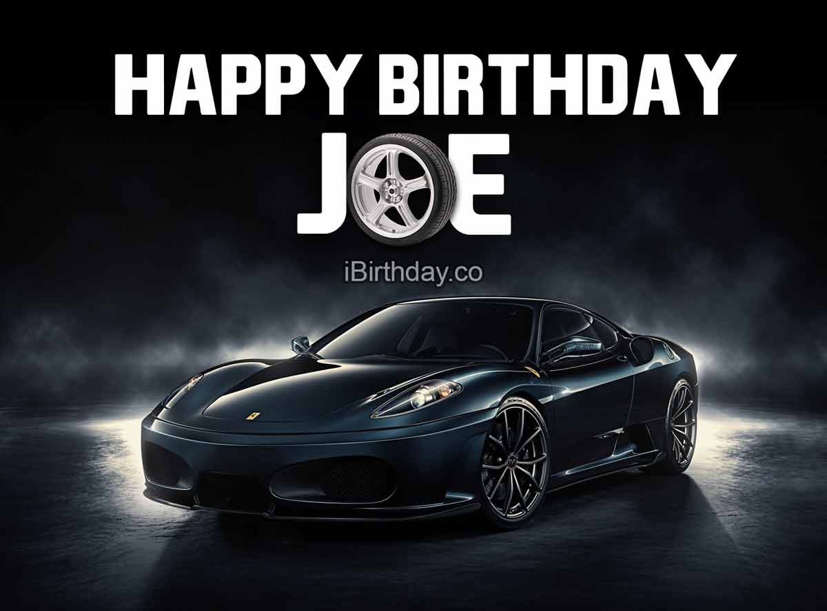 Joe Car Birthday Meme