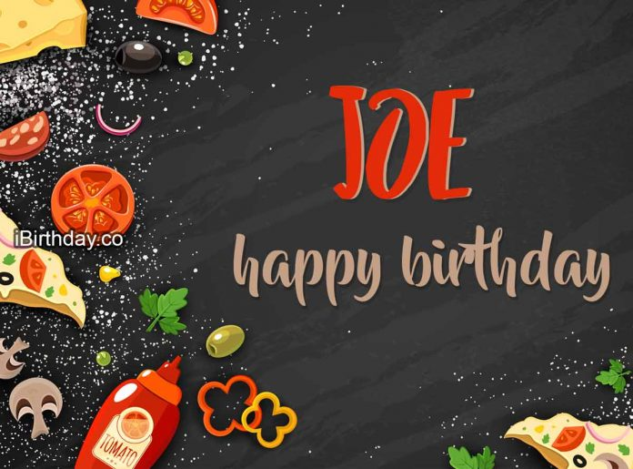 Joe Food Birthday Meme
