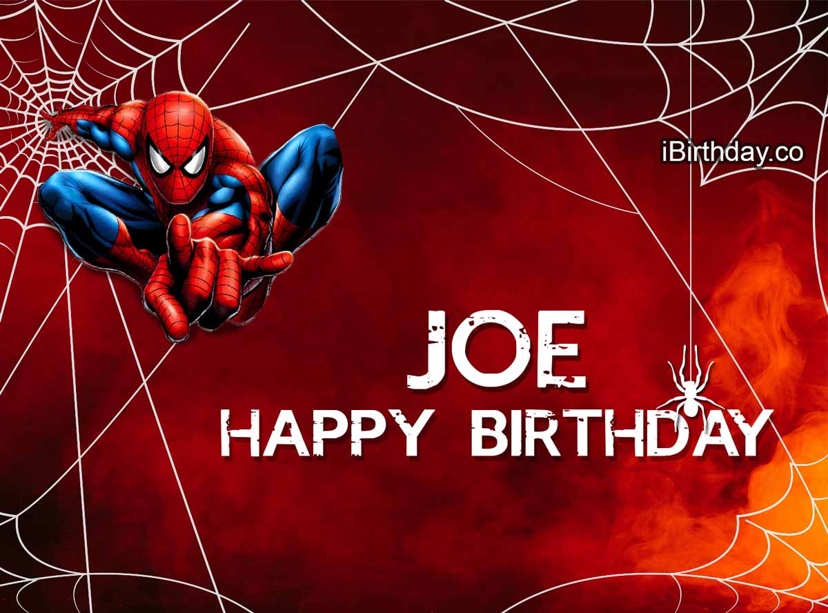 Joe Spider-man Birthday Meme