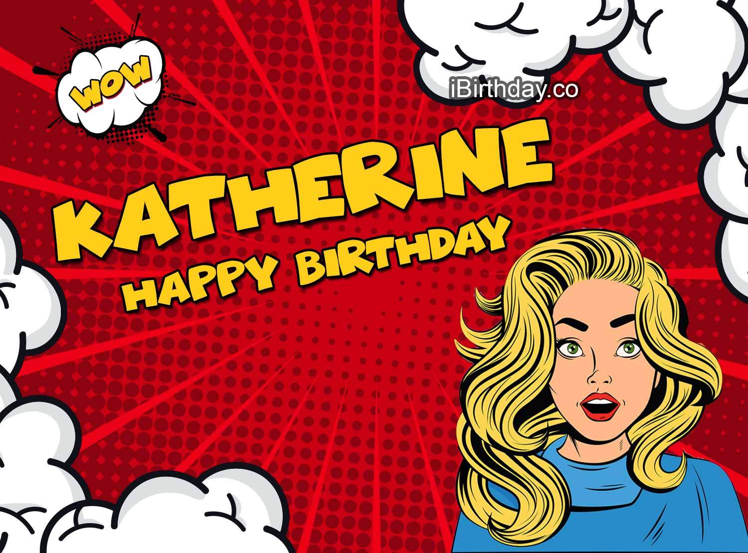 Katherine Comic Girl Birthday Meme