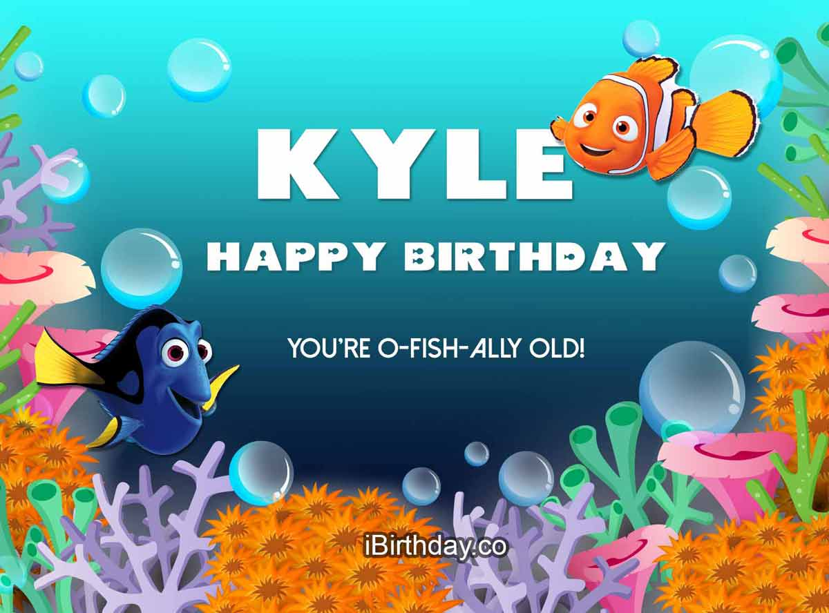 Kyle Nemo Birthday Wish
