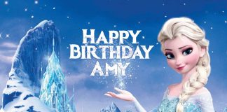 Mary Birthday Frozen Wish