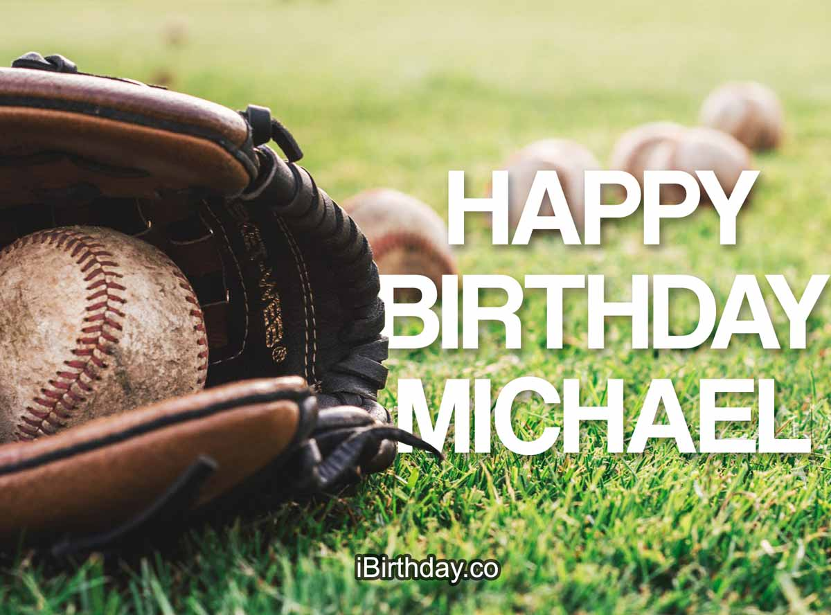 Michael Baseball Birthday Meme