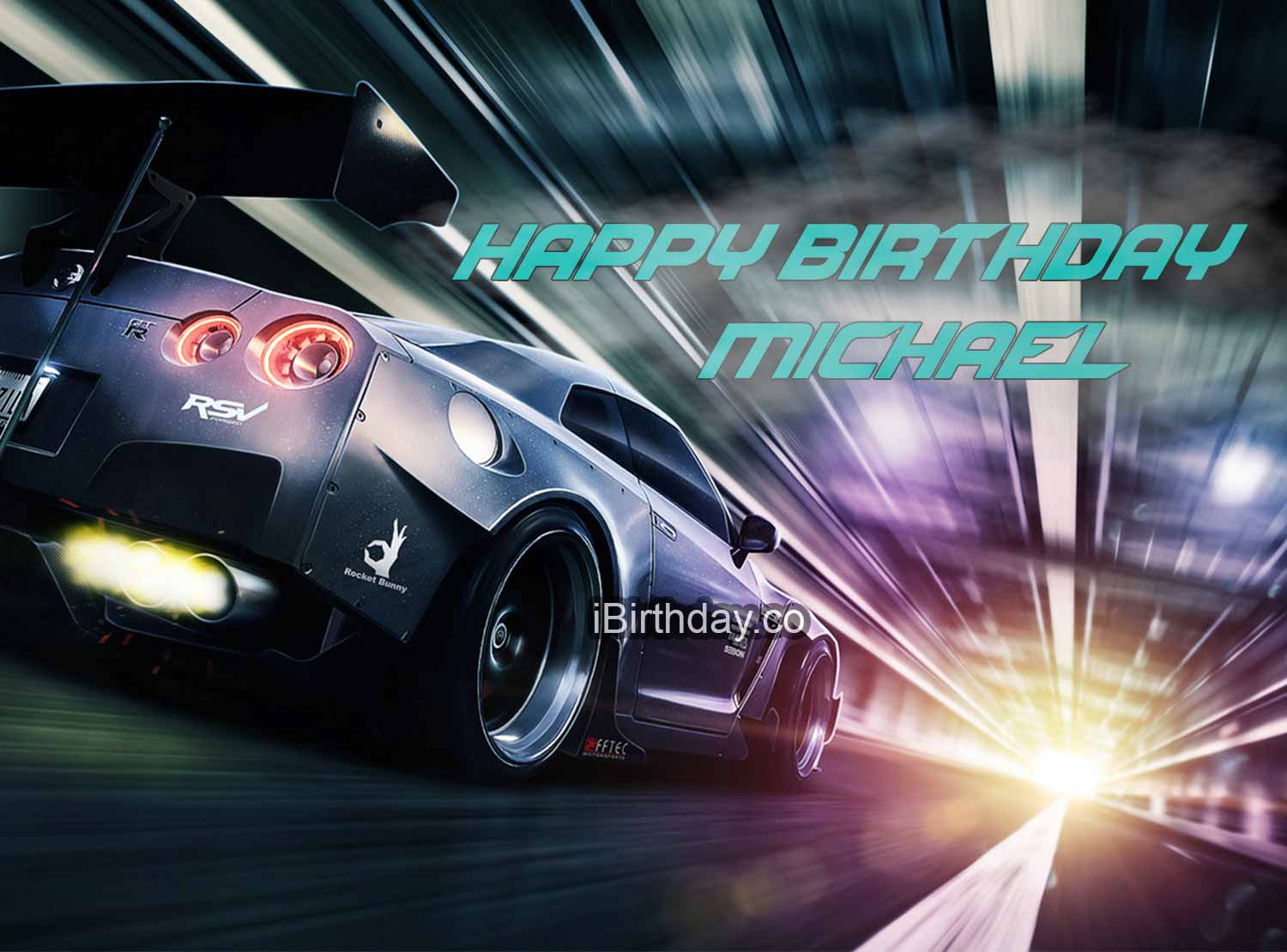 Happy Birthday Michael Need For Speed