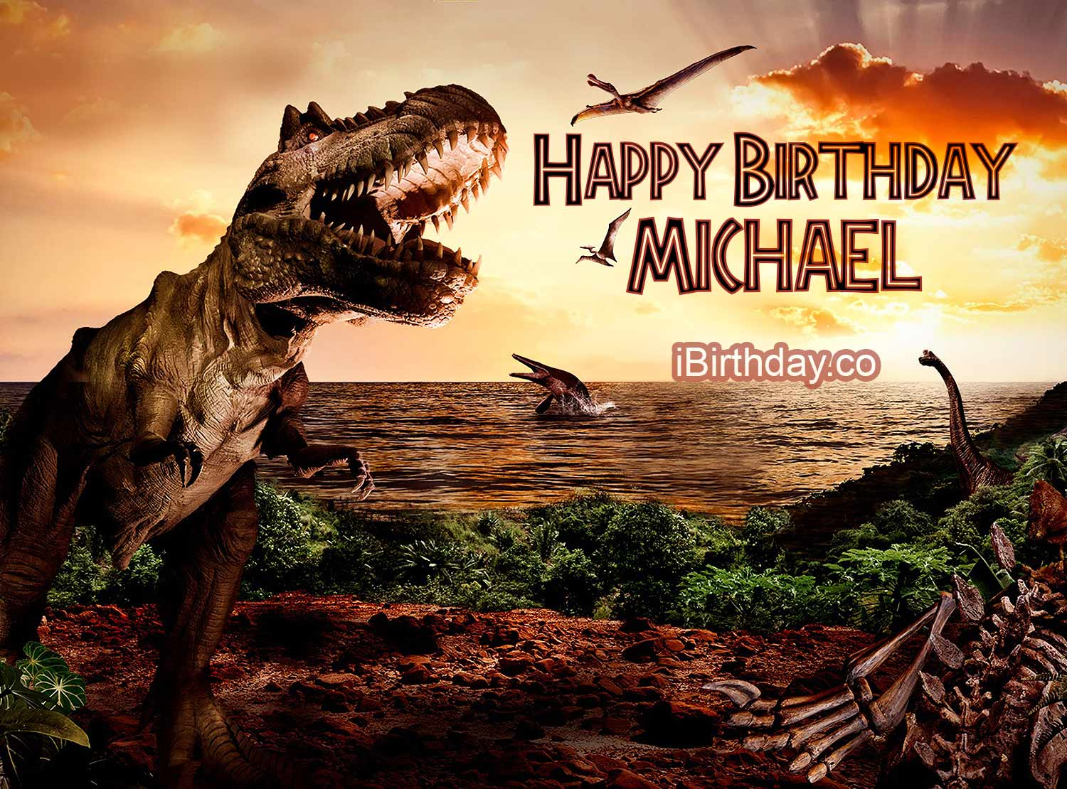 Happy Birthday Michael Jurassic Park