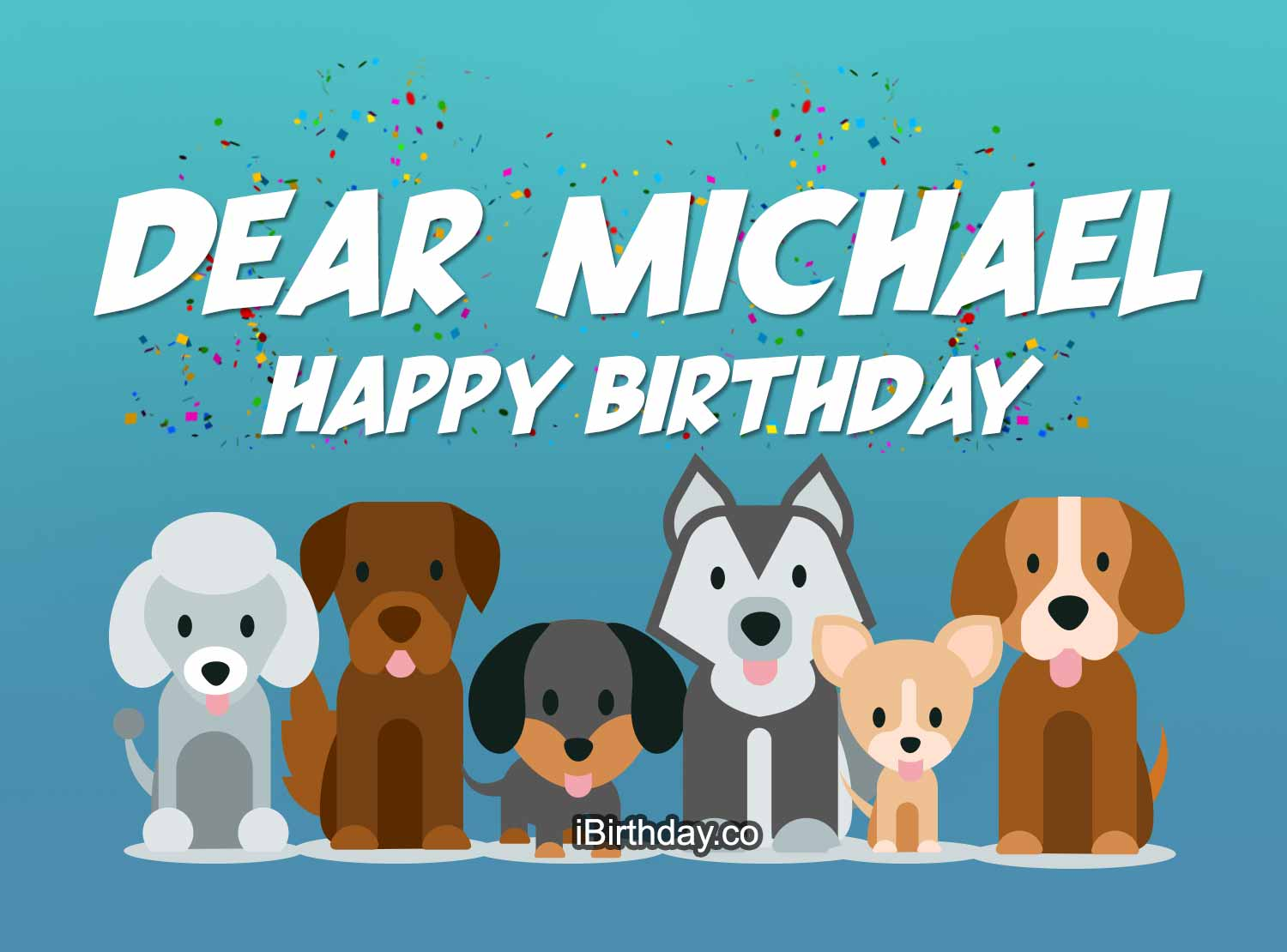 Michael Dog Birthday Meme