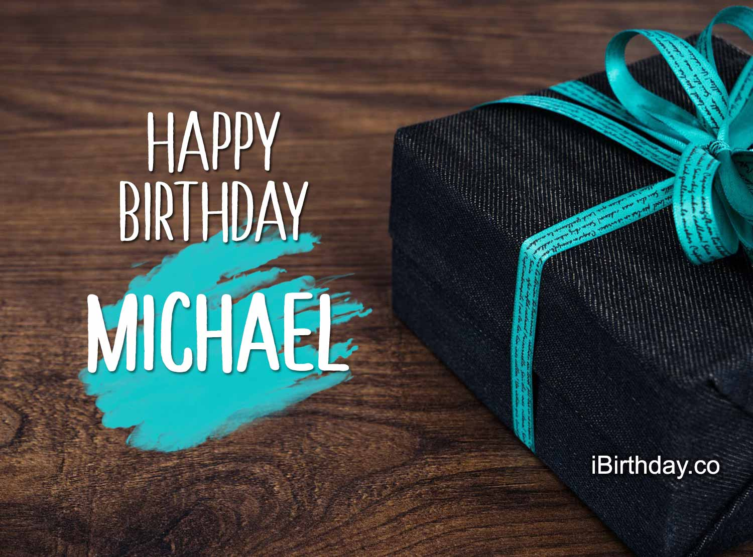 Happy Birthday Michael Gift