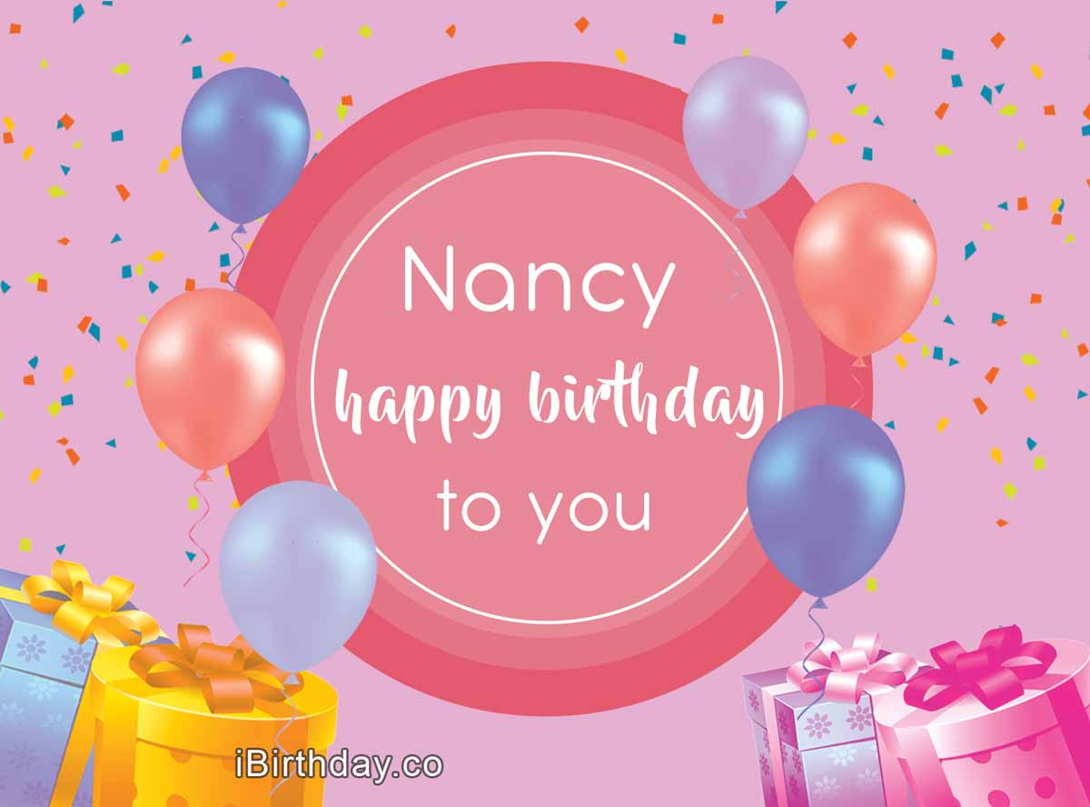 Nancy Happy Birthday Meme
