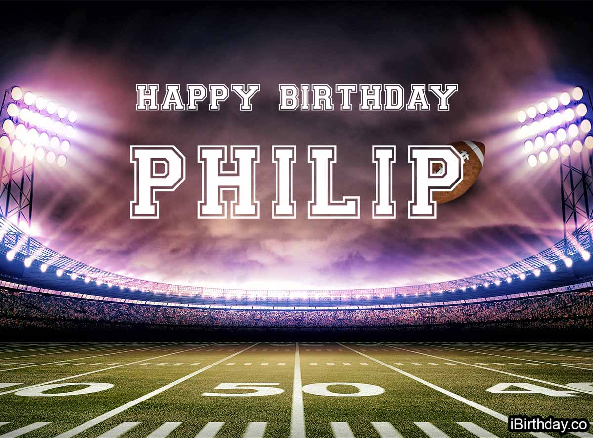 Philip Football Birthday Meme