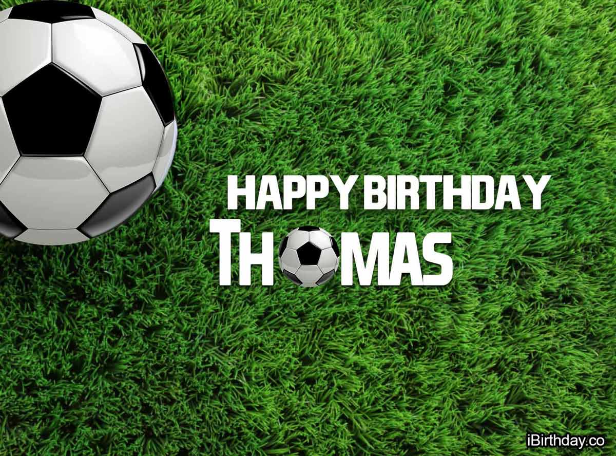 Thomas Football Birthday Meme