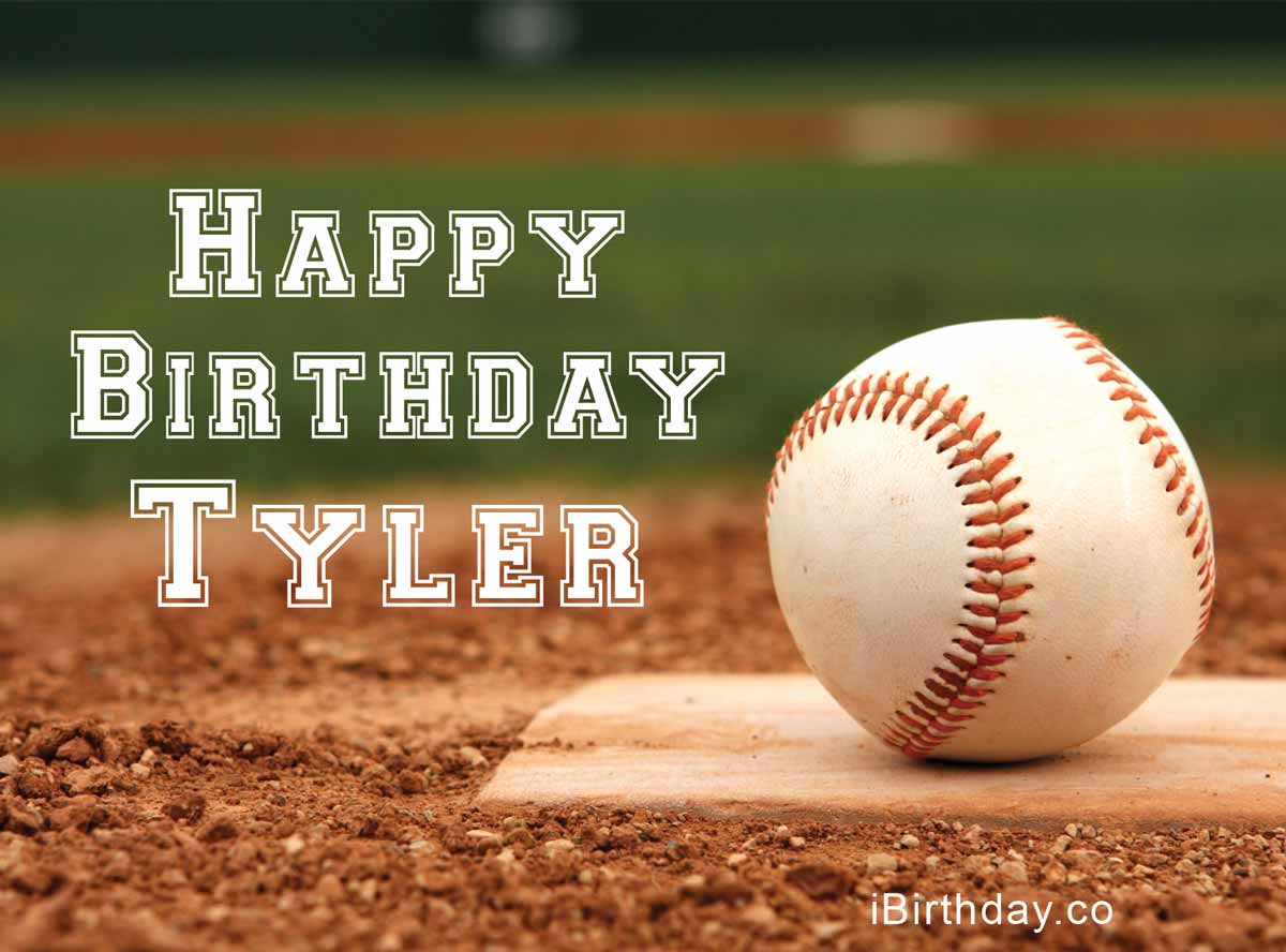 Tyler Baseball Birthday Meme