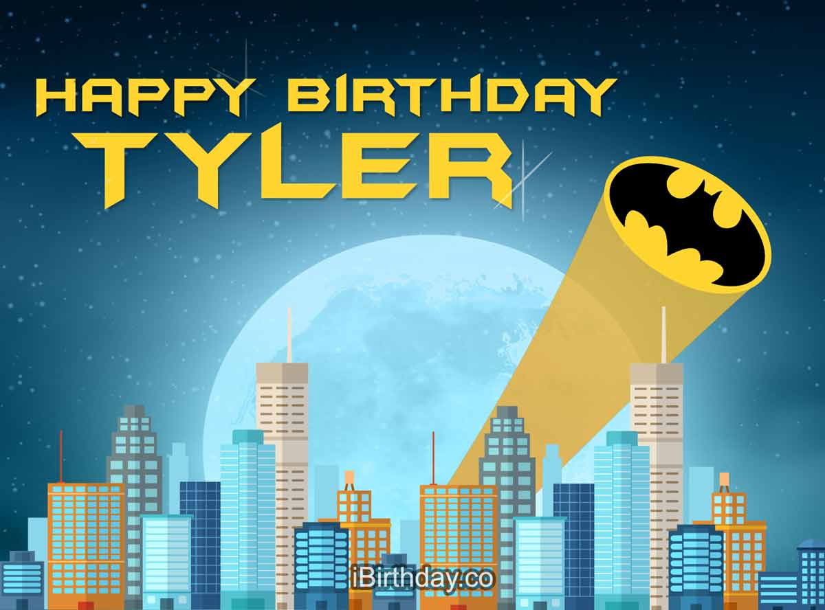 Tyler Batman Birthday Meme