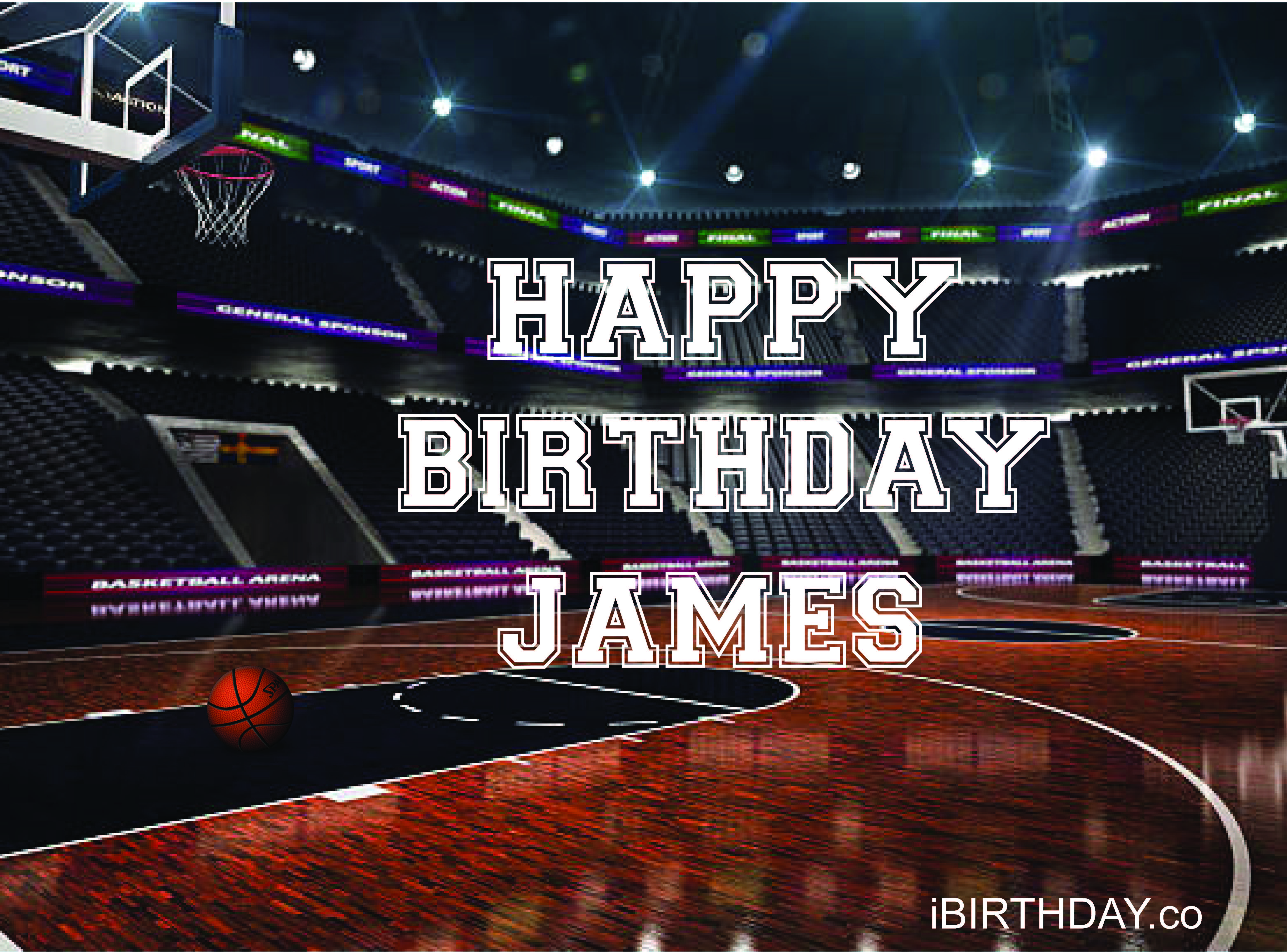 James Birthday Basketball Meme