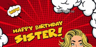 birthday wishes and quotes for sister