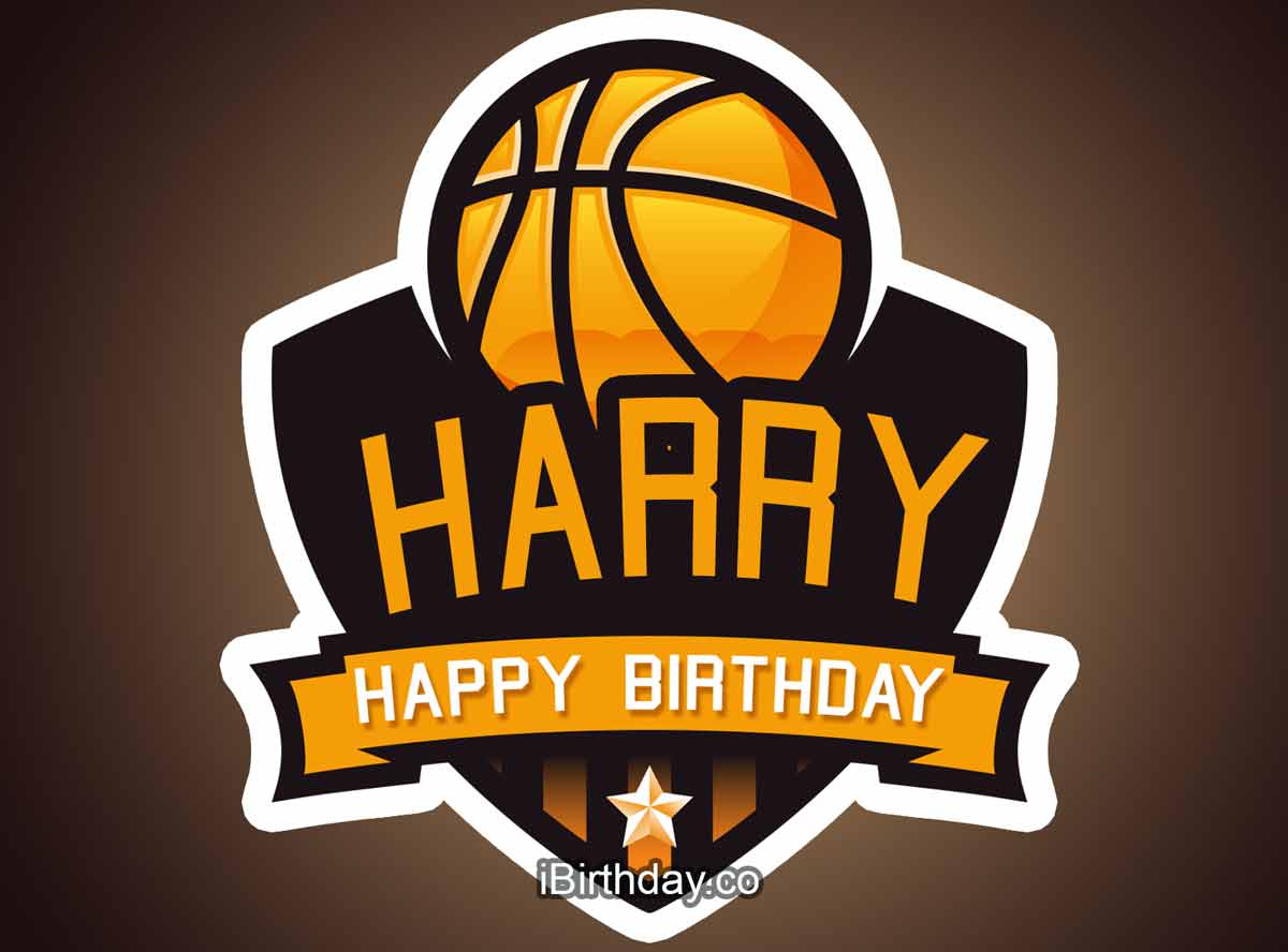 Harry Basketball Birthday Meme