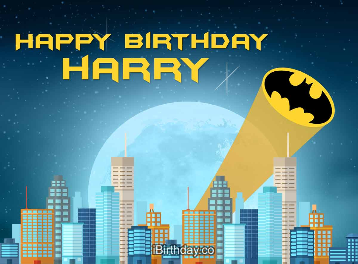 Harry Batman Birthday Meme