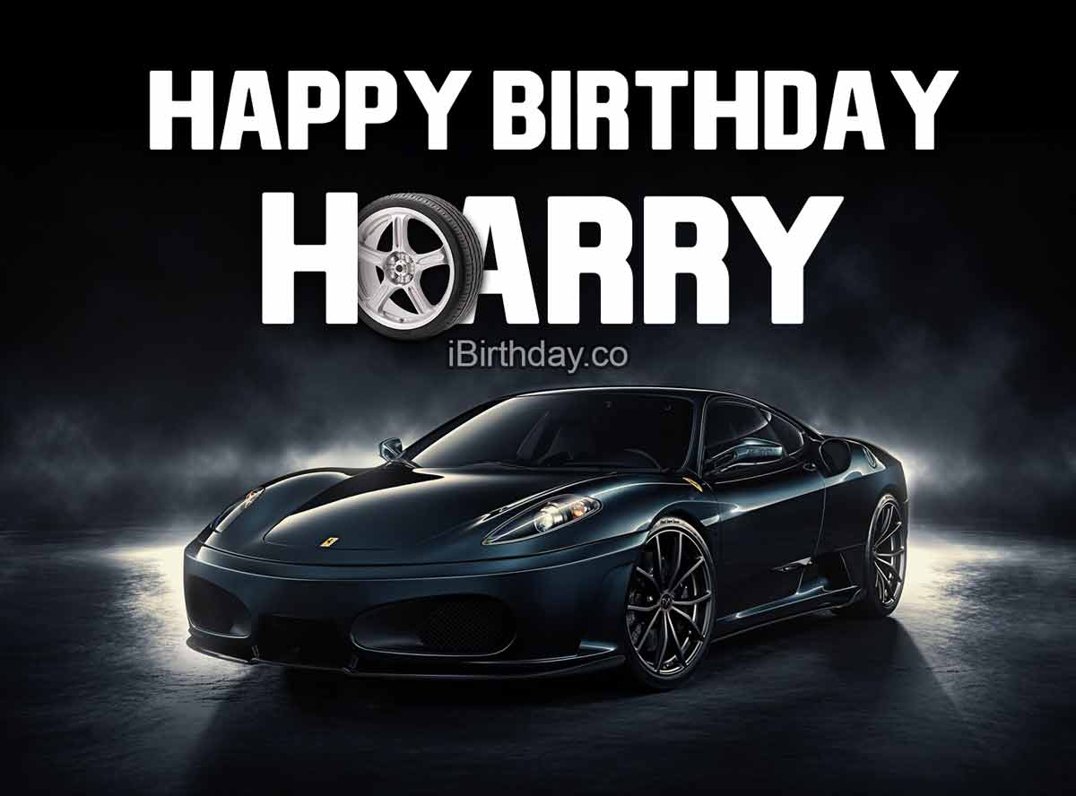 Harry Car Birthday Meme