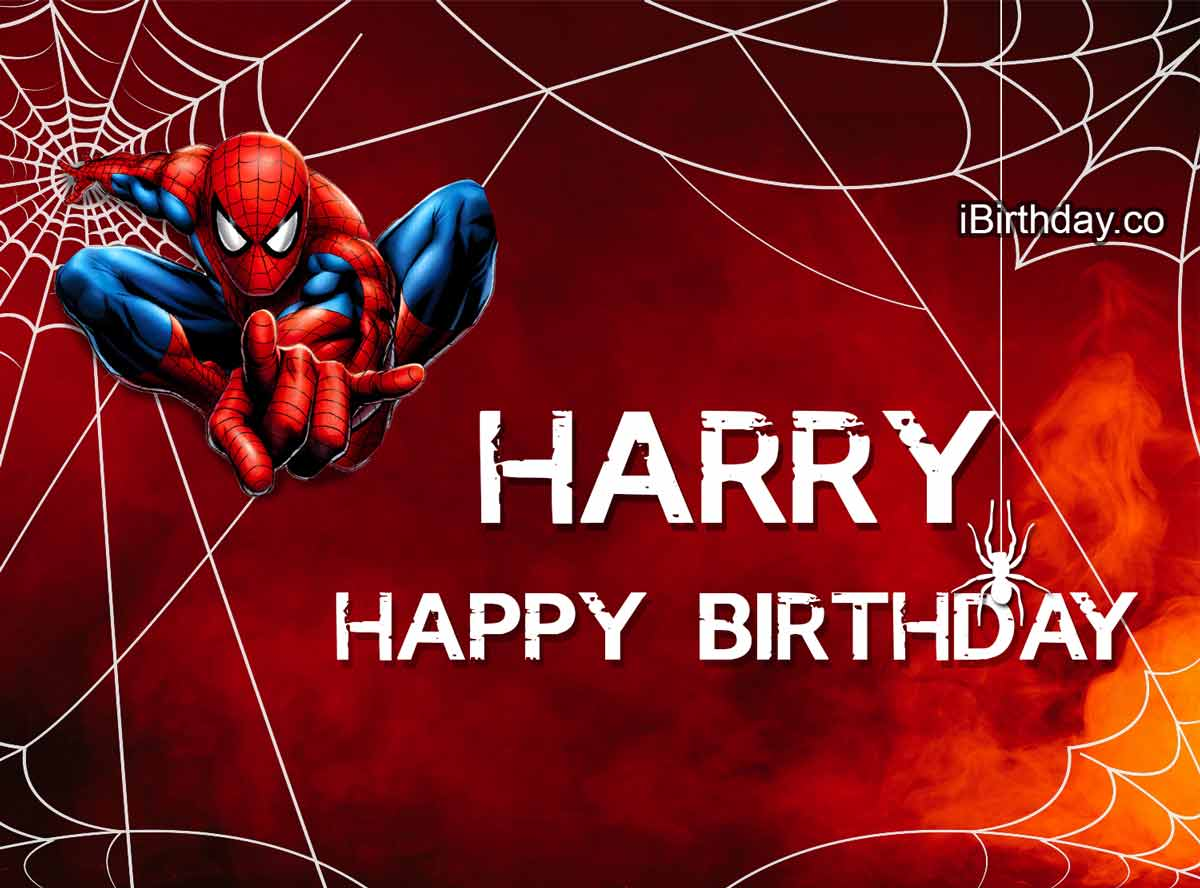 Harry Spiderman Birthday Meme