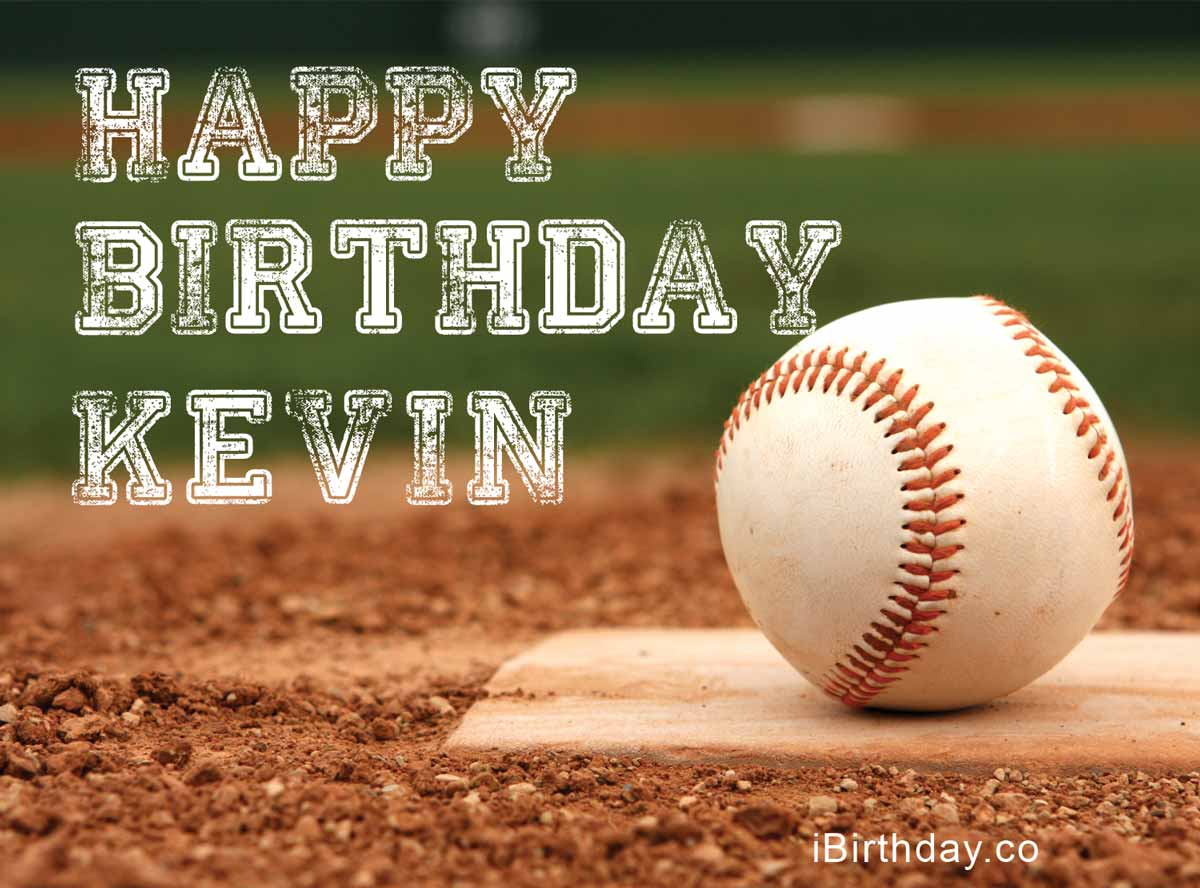 Kevin Baseball Birthday Meme