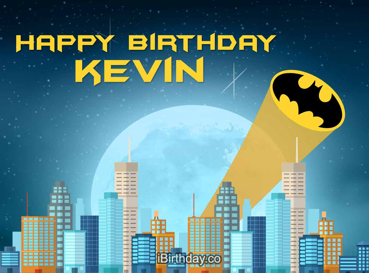 Kevin Batman Birthday Meme