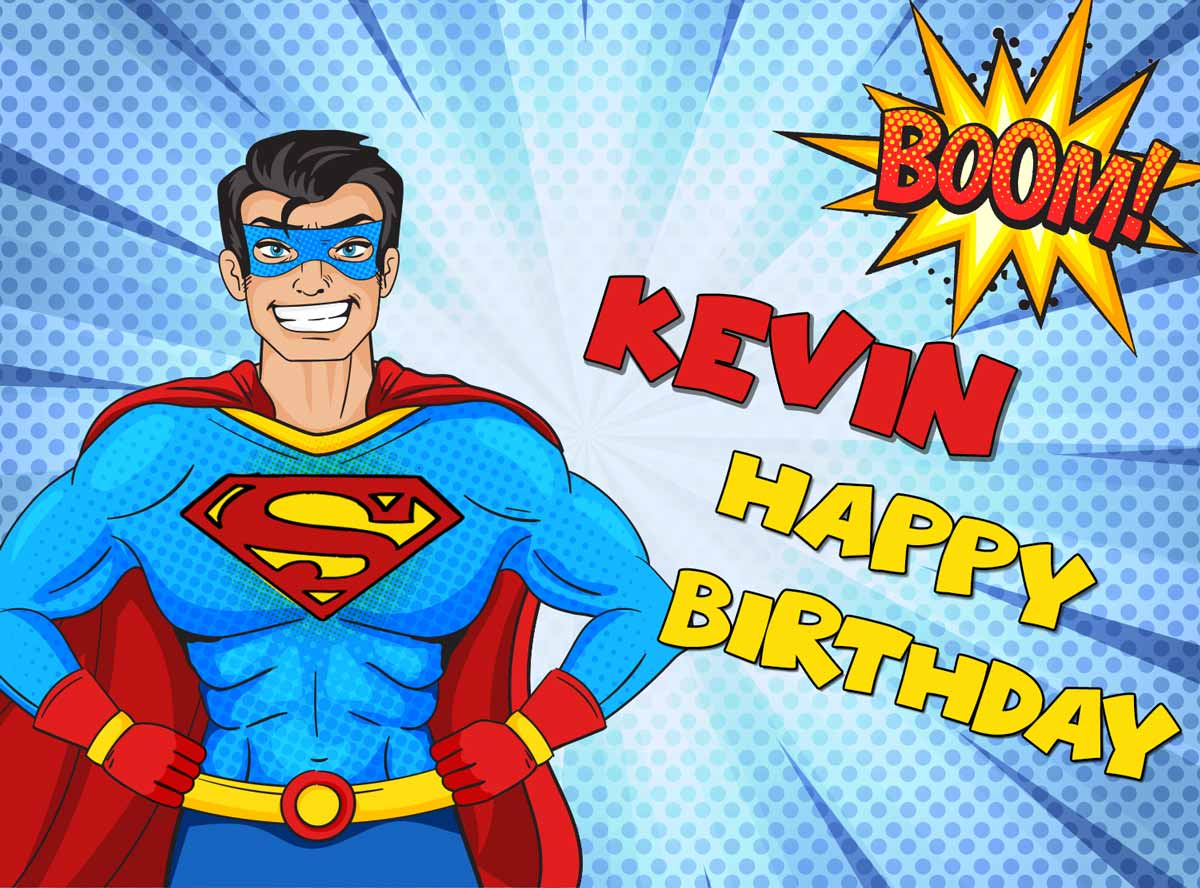 Kevin Superman Comics Birthday Meme