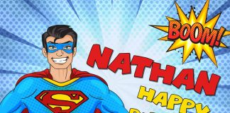Nathan Superman Comics Birthday Meme