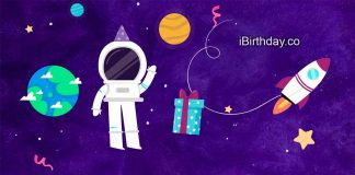 Sean Spaceman Cartoon Birthday Meme